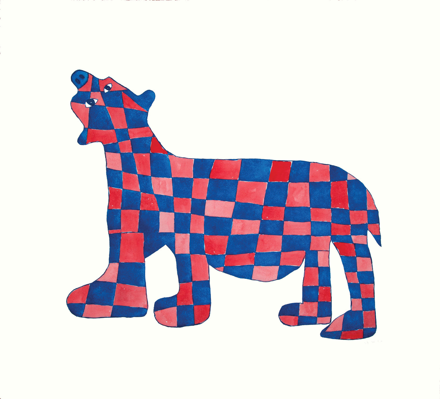 16. CHECKERED BEAR