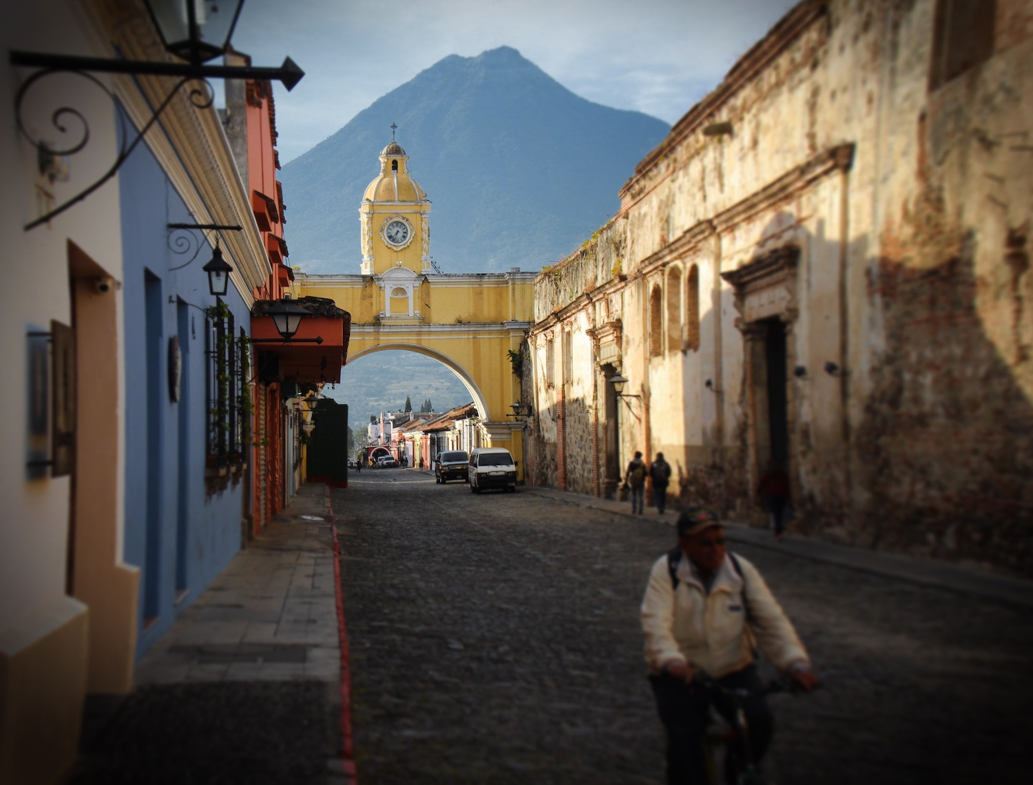 Antigua's Colonial Charm - Get acclimated in Guatemala's capital of culture, just a 40 minute drive from the international airport. The UNESCO protected town of Antigua is a colorful colonial stunner flanked by three majestic volcanoes and filled with friendly people.It's easy to wile away a few days strolling through the cobbled streets, admiring the pastel facades, and soaking up local life in plazas watched over by 300 year old churches. Look a little deeper, and you'll find some of Guatemala's top museums, best restaurants, lively bars, and boutique shops. Outside Antigua, coffee farms and volcanoes offer natural beauty and outdoor adventure.