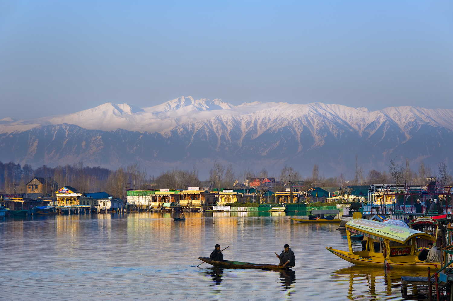 Srinagar - It's a foregone conclusion that you'll experience next level soreness after exploring the terrain around Gulmarg. Fortunately, Srinagar is a fine place to recuperate before your onward journey. At the family-owned New Jacquline Heritage Houseboats, you can relax on mountain shrouded Nageen Lake and sleep amid traditional Kashmiri design and decoration.The town has plenty of excellent dining options, and street food lovers will be delighted by the kebab stalls at Kahayam Chowk. Juicy, charcoal grilled meat kebabs are served on traditional lavasa bread, along with a dozen different types of condiments. Chai Jaai is a gorgeous English-inspired tea house to wile away an afternoon of mountain recovery and reflection.