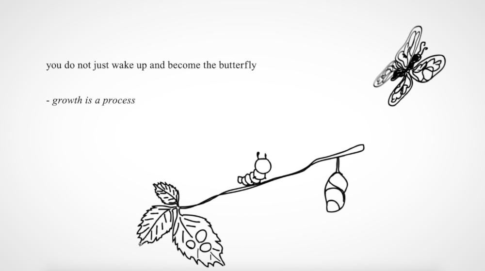 From Rupi Kaur's  Milk and Honey.