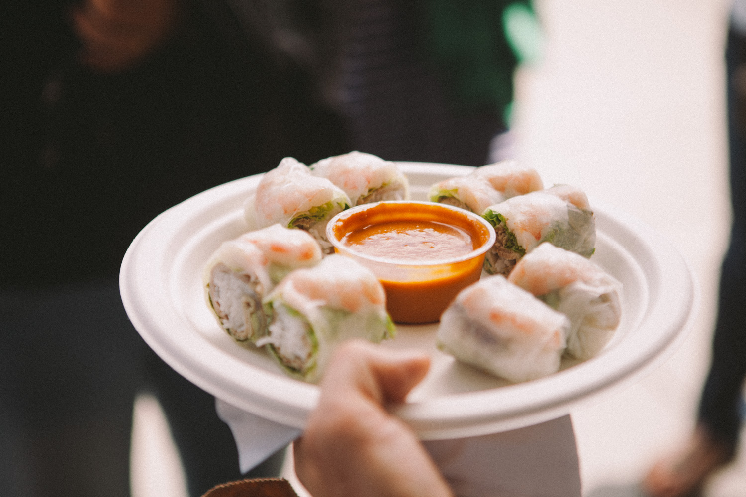 San-Franciso-Ferry-Building-Spring-Rolls