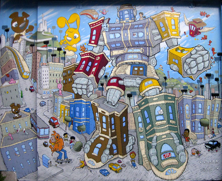 Victorion, artist Sorrin Norris   Image: Courtesy    SF Mural Arts