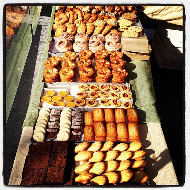 Starter Bakery sells its sweet and savory baked goods at weekend farmers markets in the East Bay.