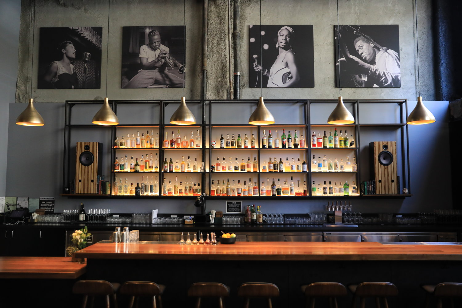 Bar Shiru oozes stylish sophistication, a stone's throw from the Fox Theater.
