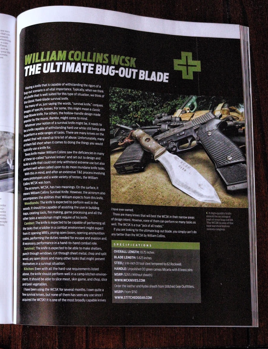 Featured in American Survival Guide magazine December 2018 Bugout issue. - written and photographed by Mike TravisBlue Mountain Bushcraft