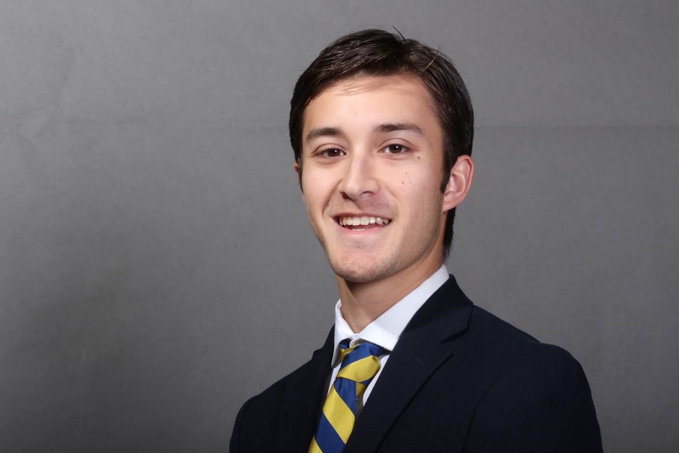 JJ Hayes - VP Member Education   JJ is fourth year finance major in the McCombs School of Business and will graduate in May of 2020. Outside of his DU family he works as a leasing manager in West Campus, enjoys playing golf, and loves taking his dog on adventures.