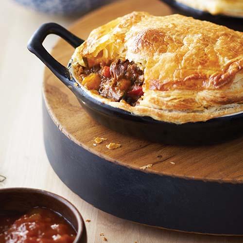 Hearty Lamb & Rosemary Pie
