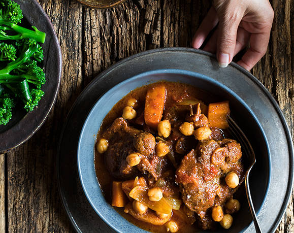 LAMB & CHICKPEA STEW