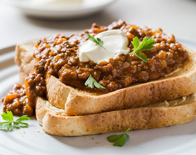 'Magic Mince' - Low in fat and sodium and an excellent source of iron.