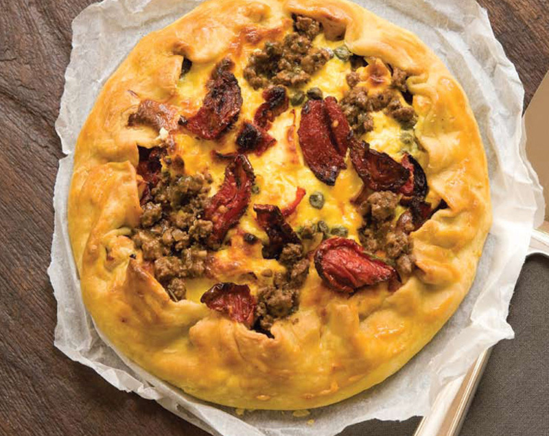 BEEF AND FETA GALETTE