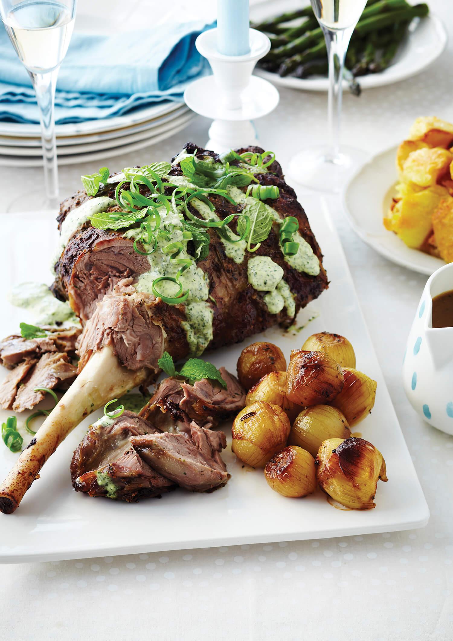 Marinated Roast Lamb