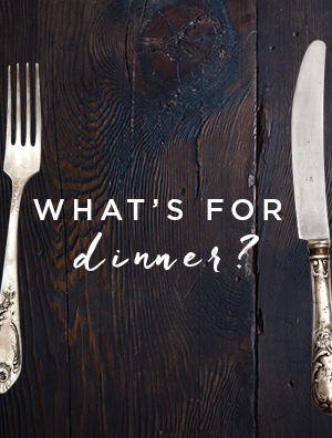 Sign up for What's For Dinner
