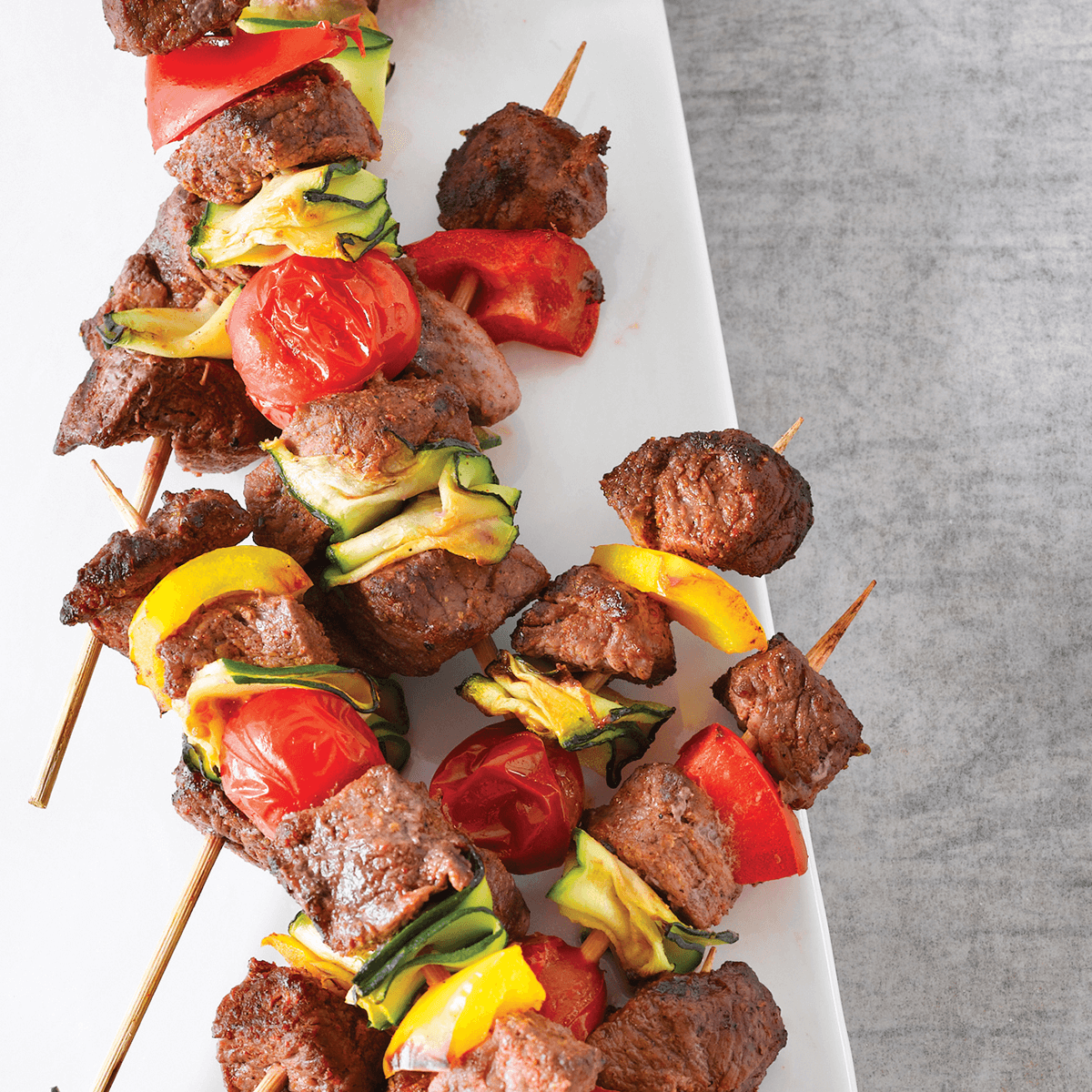 BEEF KEBABS WITH SOUTHERN SPICE RUB - The bold spice mix in this dish is what makes it so special. Being such a simple recipe, these Kebabs are perfect as a snack or starter and can easily be paired with sides of your choice to make them a more filling meal.