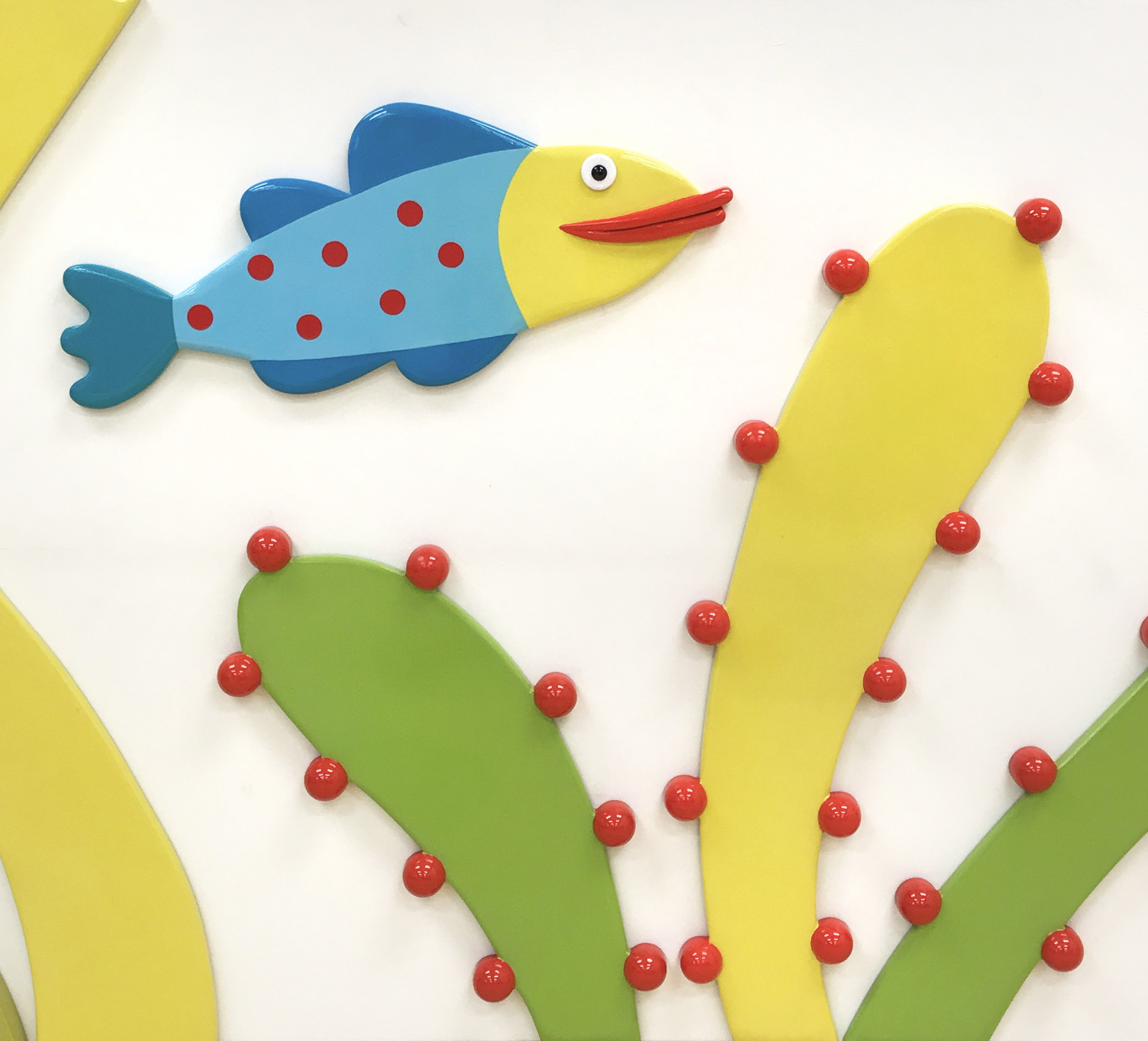 Aquarium Wall detail 2