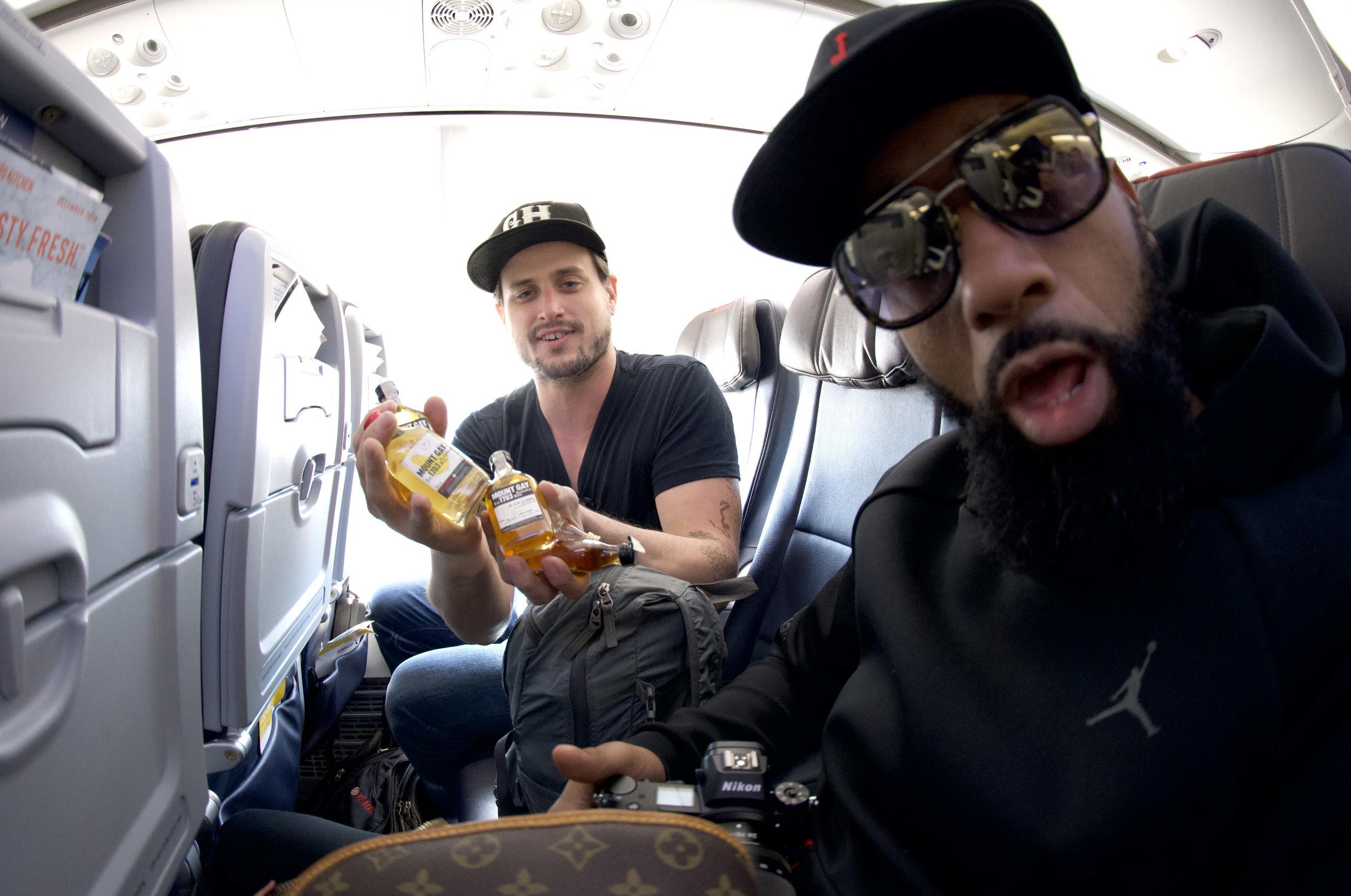 MJ and tim on plane .jpg