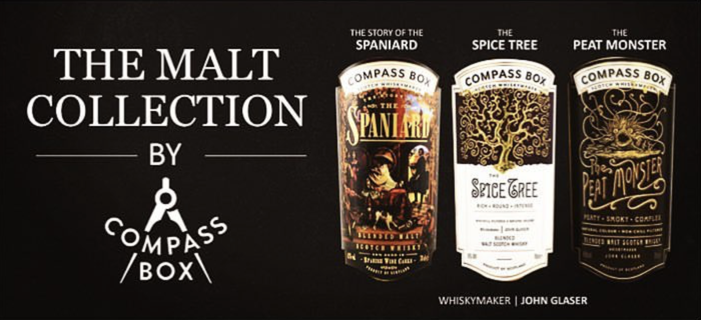 the malt collection by compass box