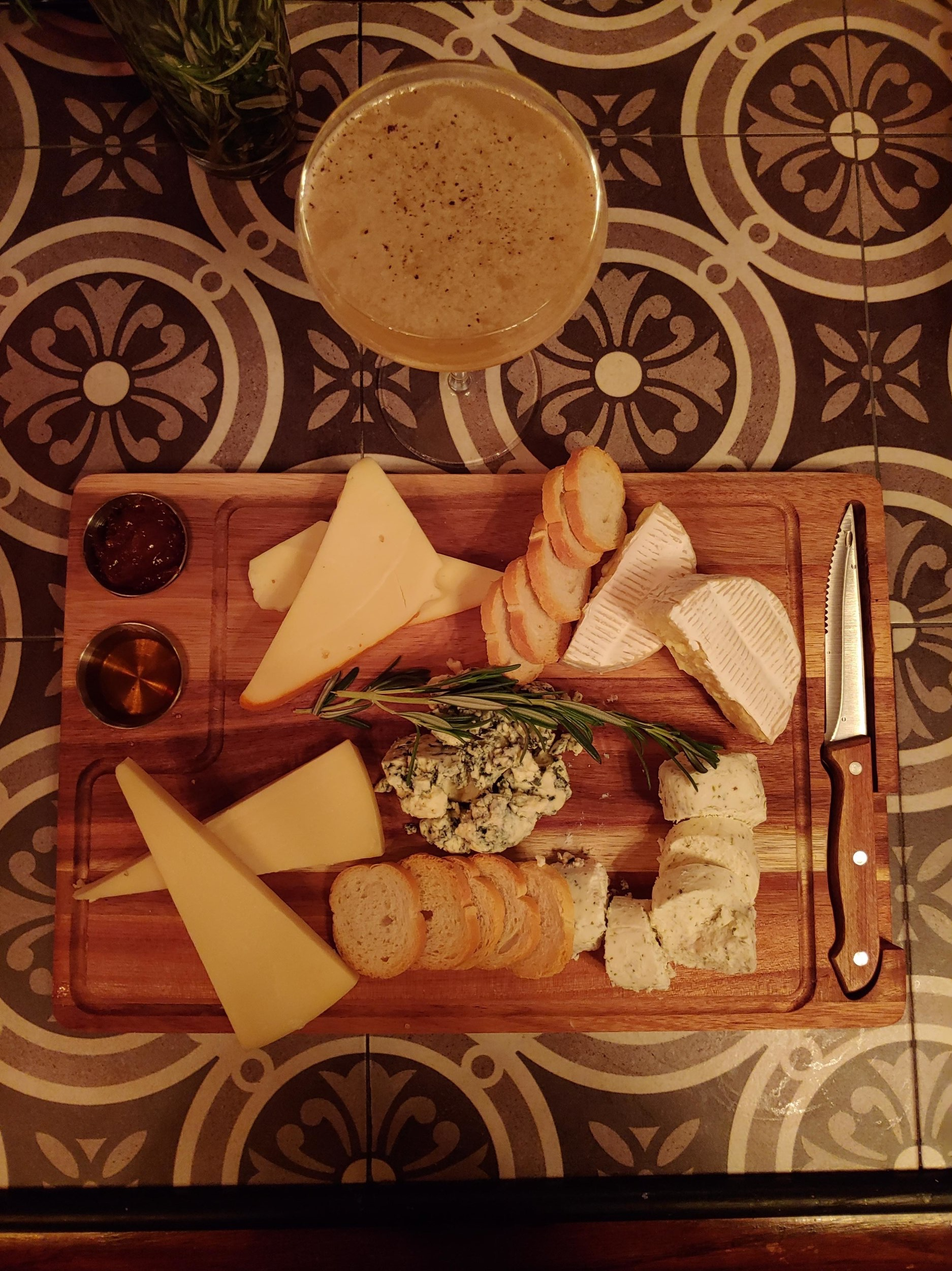 cheese board offered at general horseplay