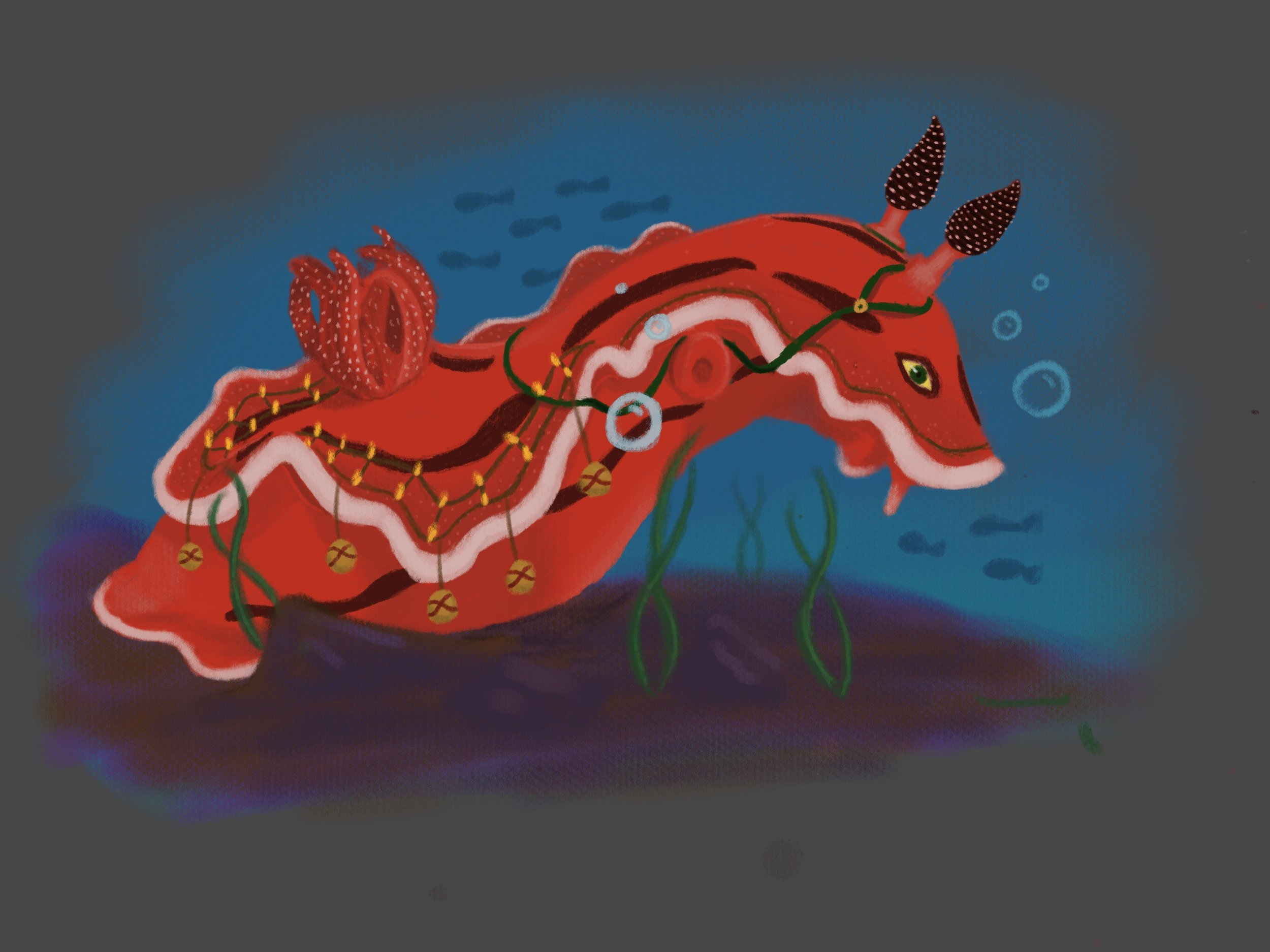 Rudolph as an undersea creature