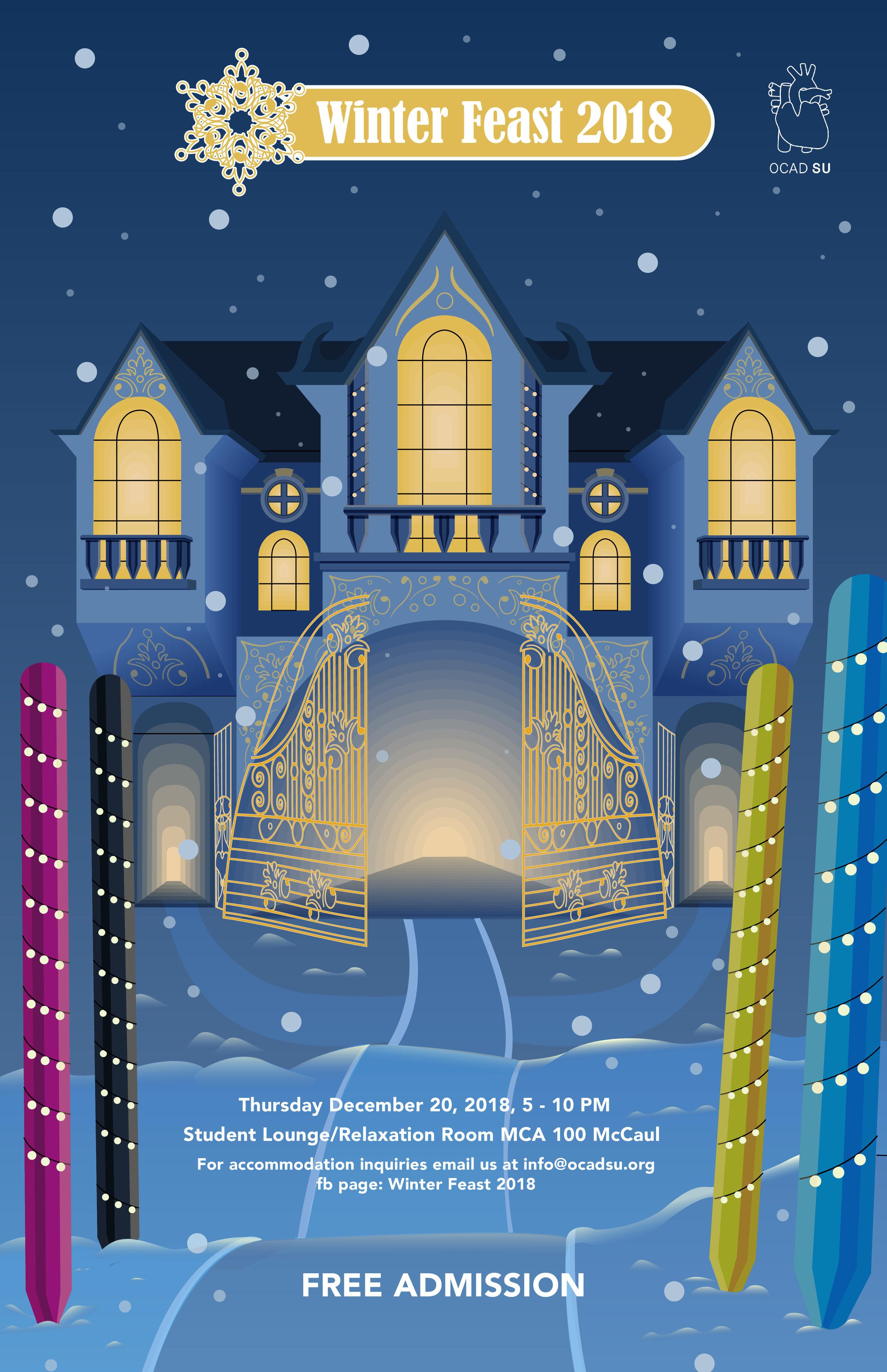 Winter feast poster