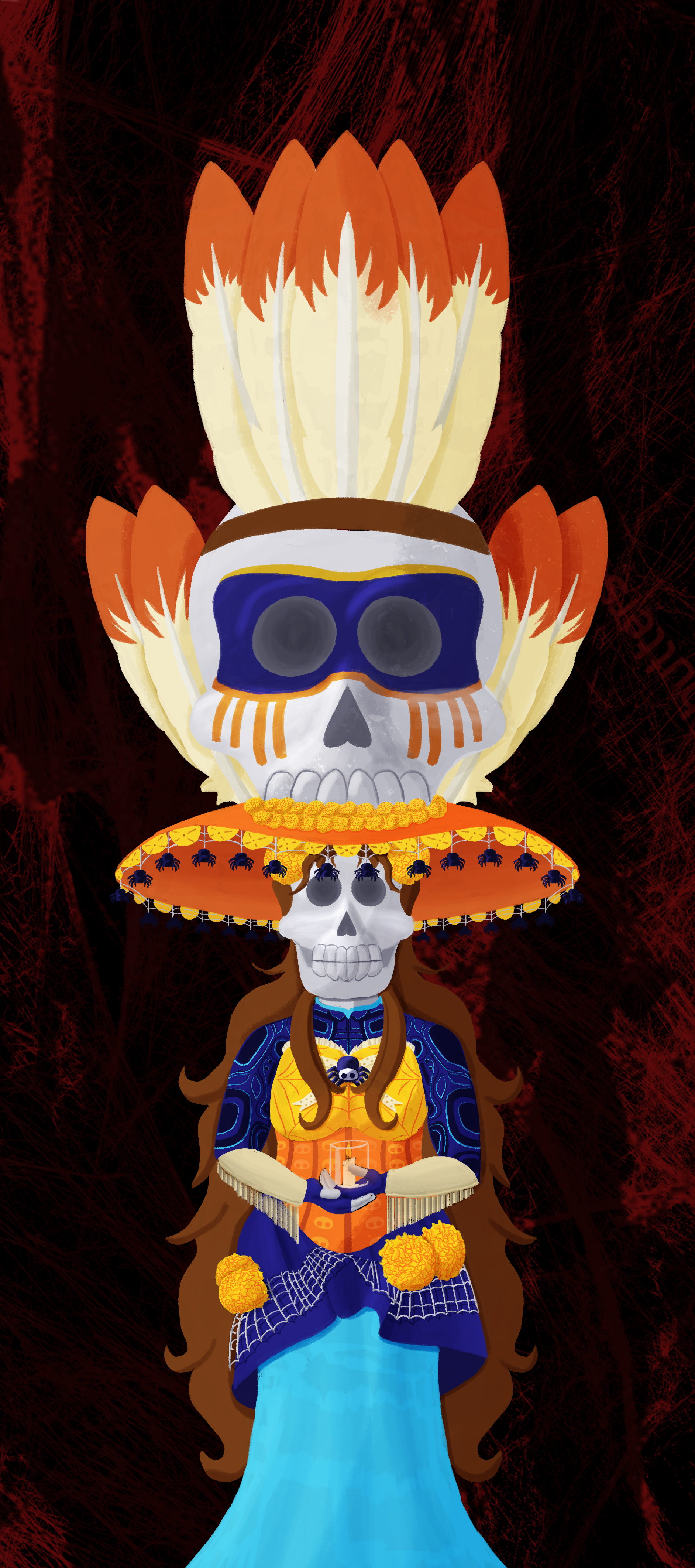 Day of the dead totem3.jpg