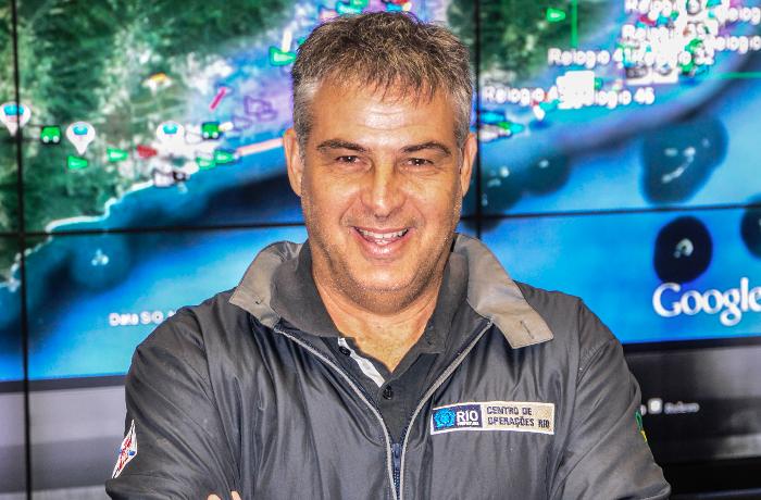Alexandre Cardeman - Chefe Executivo de Operações e Resiliência do Centro de Operações (COR) do Município do Rio de Janeiro/RJ.