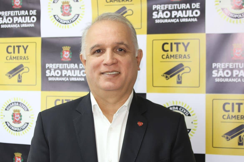 """Cel. José Roberto R. de Oliveira - Secretário de Segurança Urbana do Município de São Paulo/SP. Responsável pelos programas """"Dronepol"""", """"City Câmeras"""" e pelo App """"SP + Segura""""."""