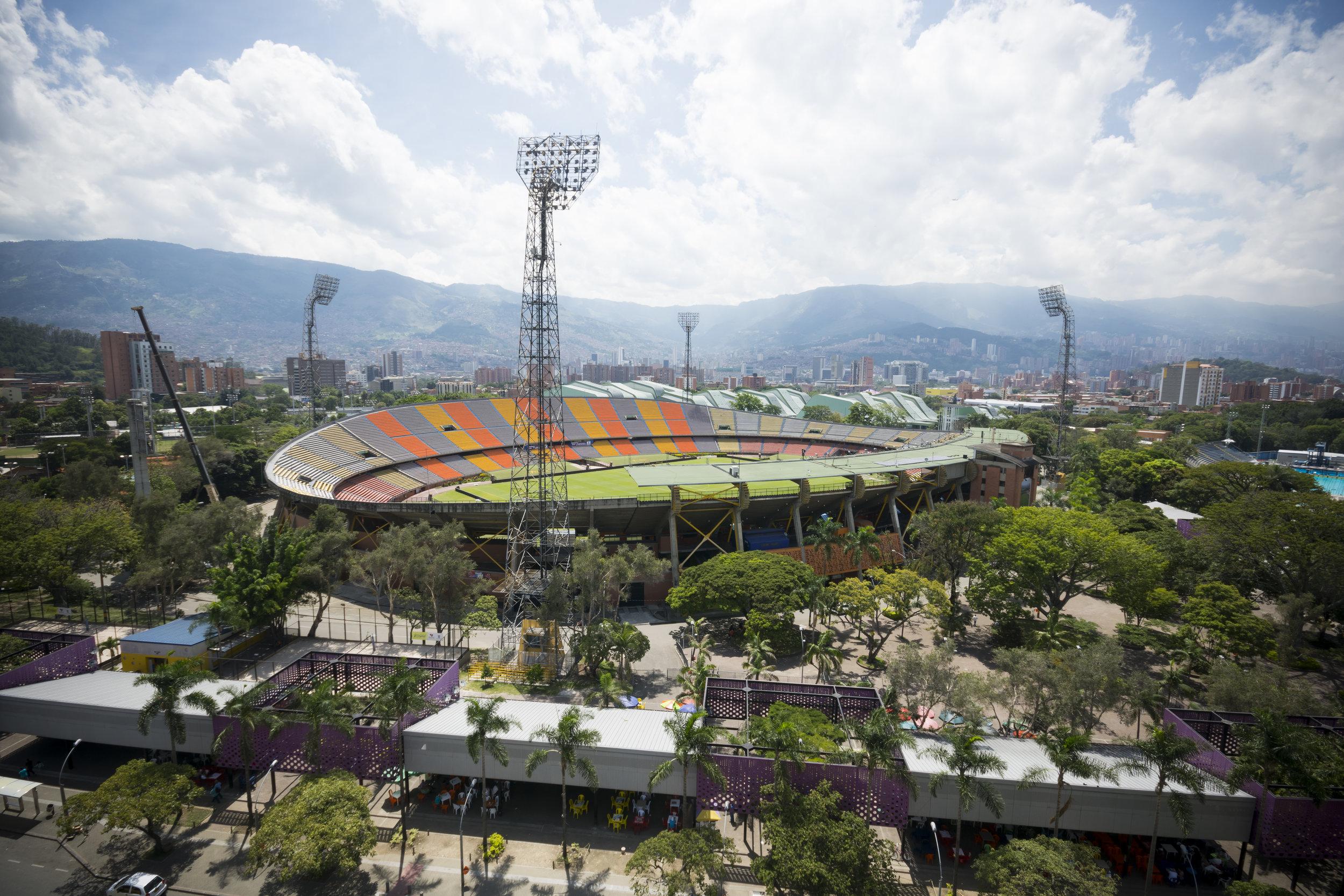 Estadio. Foto: Medellín Travel.