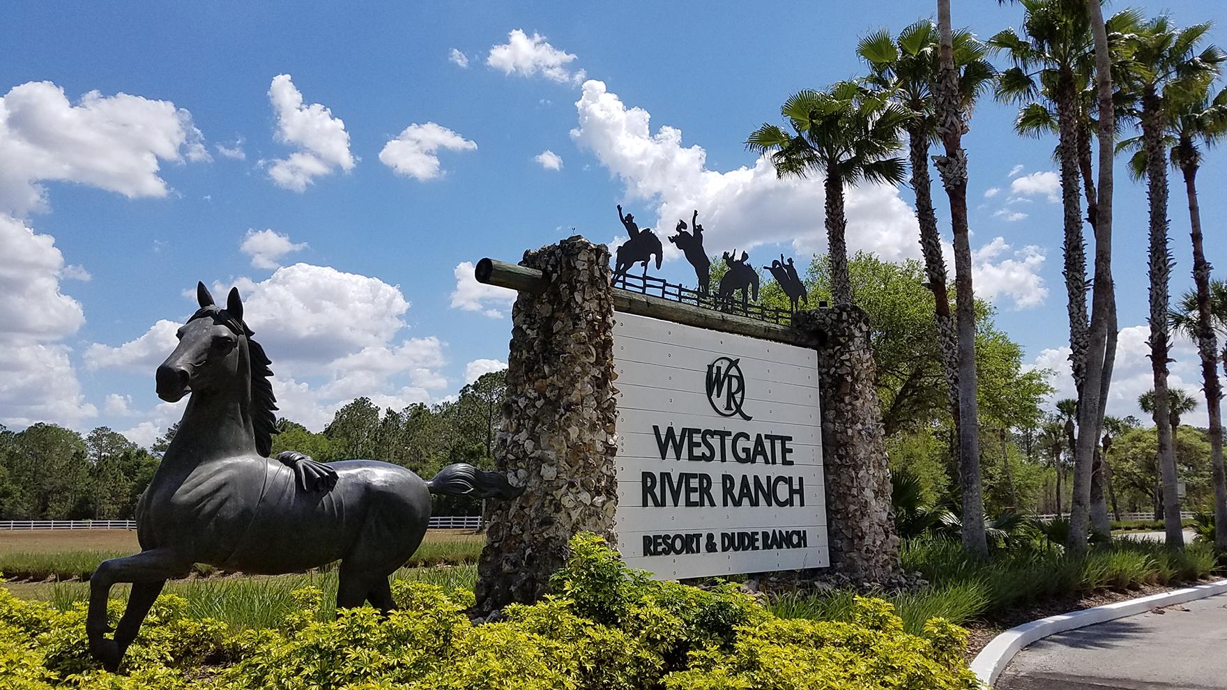 Entrada da propriedade. Foto: Visit Central Florida.