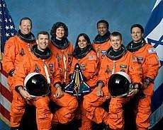 Tripulação do Columbia. Foto: Wikipedia.