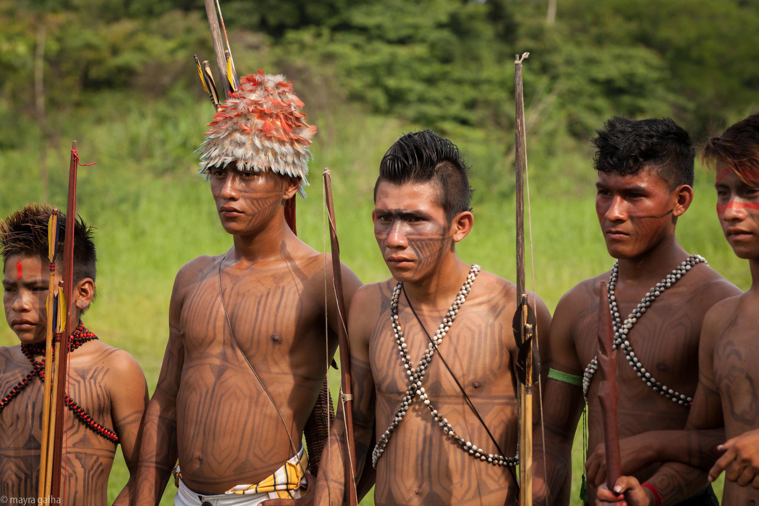 Os Munduruku. Foto: Márcio Monteiro Rocha