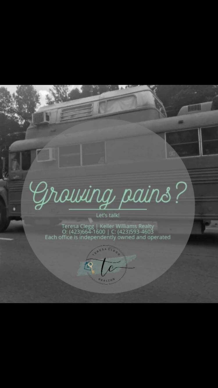 Teresa Clegg Chattanooga Realtor growing pains.