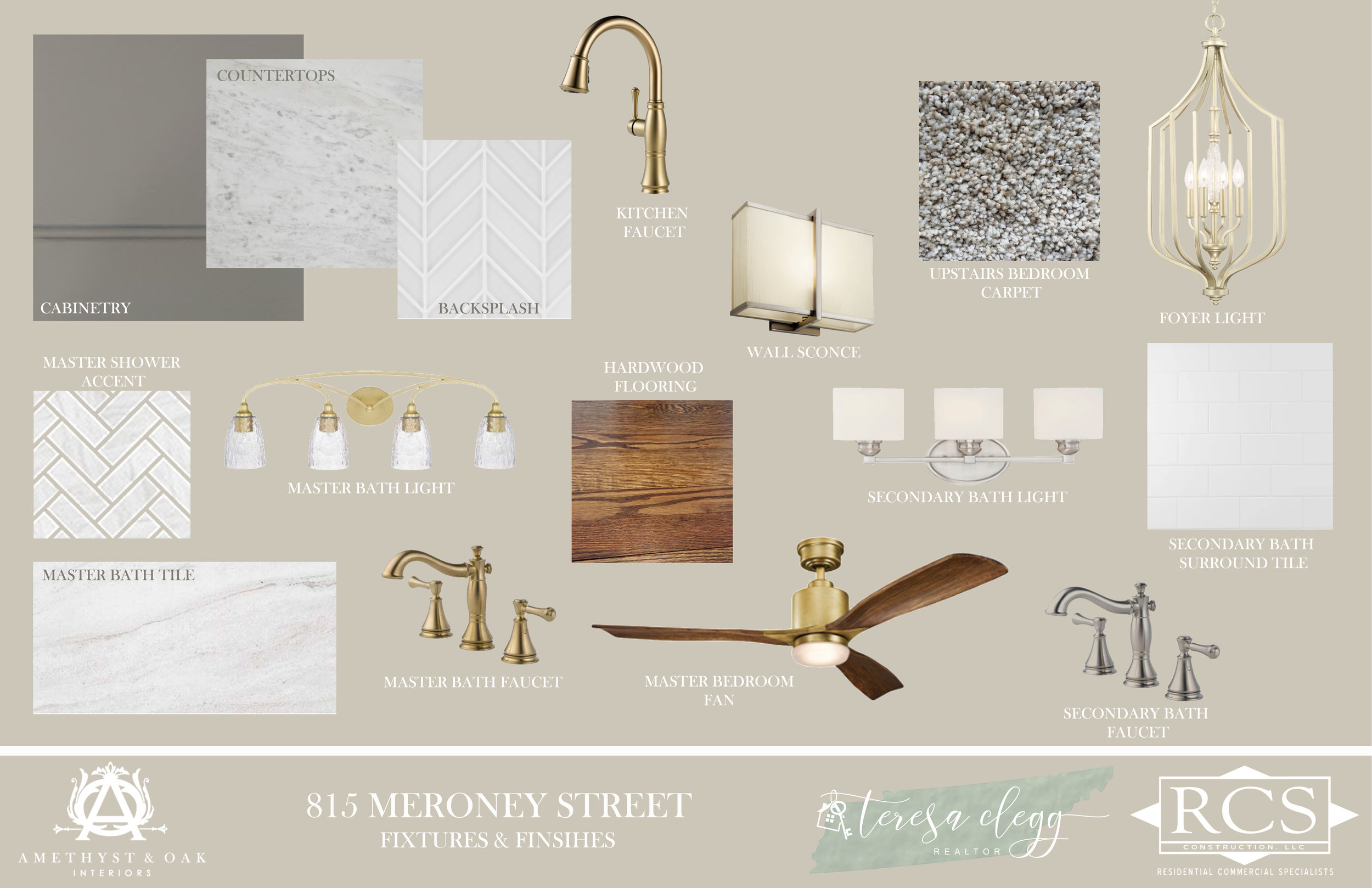 Teresa Clegg Chattanooga Realtor Design Board 815 Meroney
