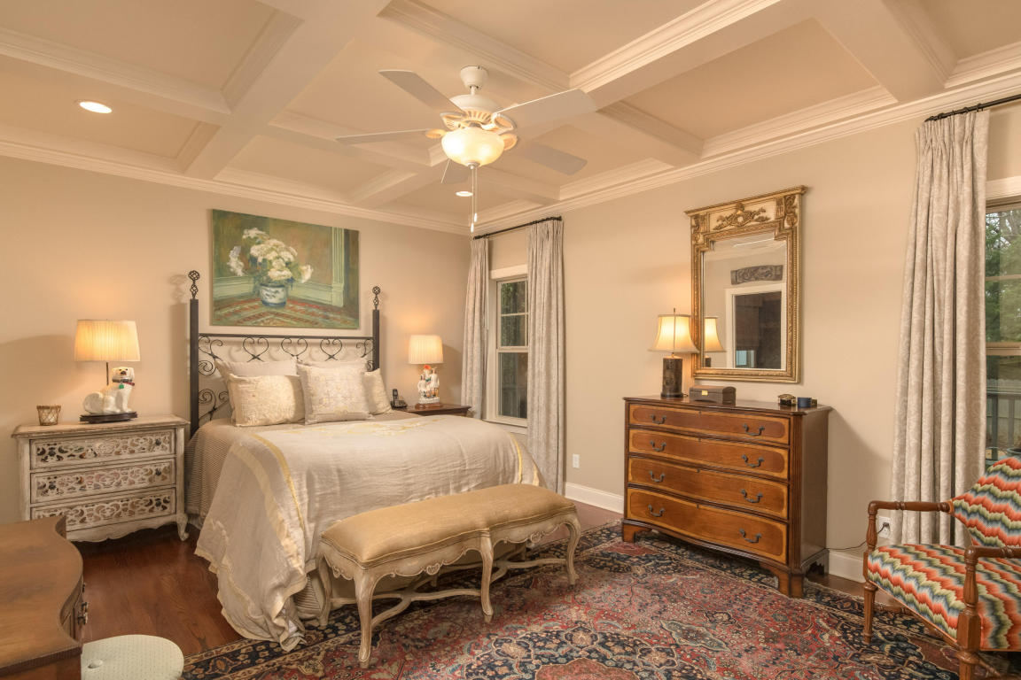 bedroom - Use neutral bedding, use the least amount of personal items possible, clean ceiling fans, replace any blown light bulbs and allow natural light to enter the room