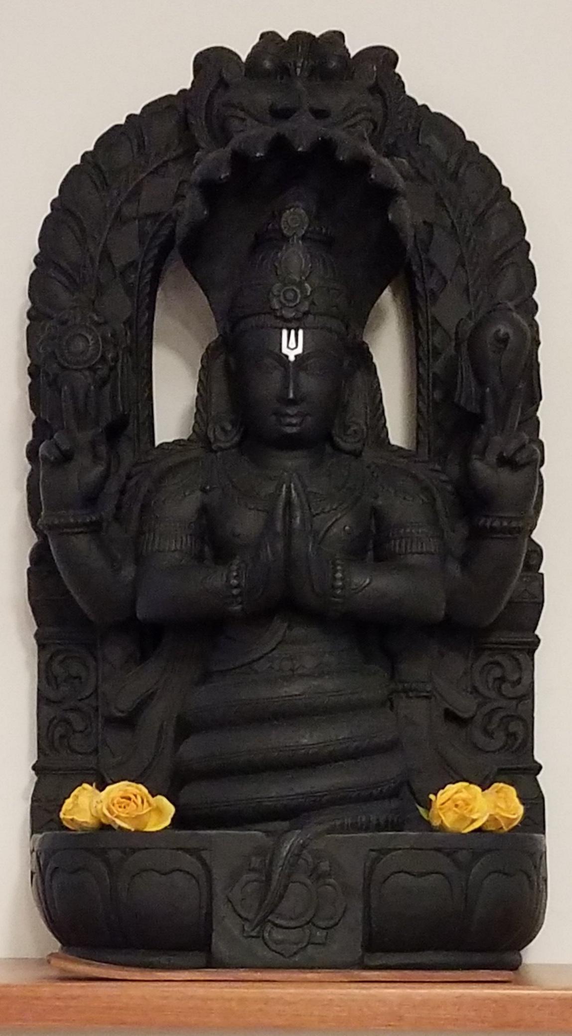 _________________________________Patanjali statue at Iyengar Yoga Asheville_________________________________