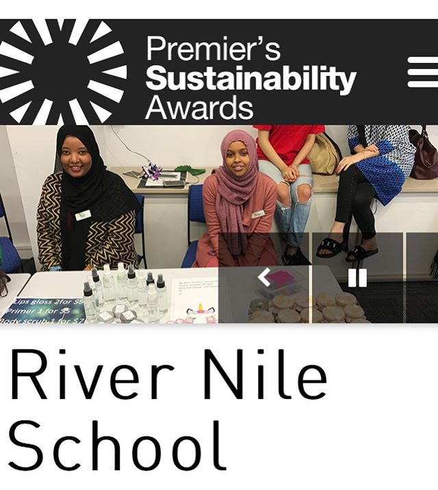 River Nile School are finalists in the education category of the  Premier's Sustainability Awards for 2019! 👏🏽 🍃 🌞🌍 In 2018, the theme of the integrated VCAL program was sustainability. Throughout the year, students planned, organised & delivered two outstanding projects; a sustainability market & sustainability expo.  Being a finalist is recognition of the the amazing projects undertaken by the students  and the innovative integrated VCAL program delivered at RNS in 2018.