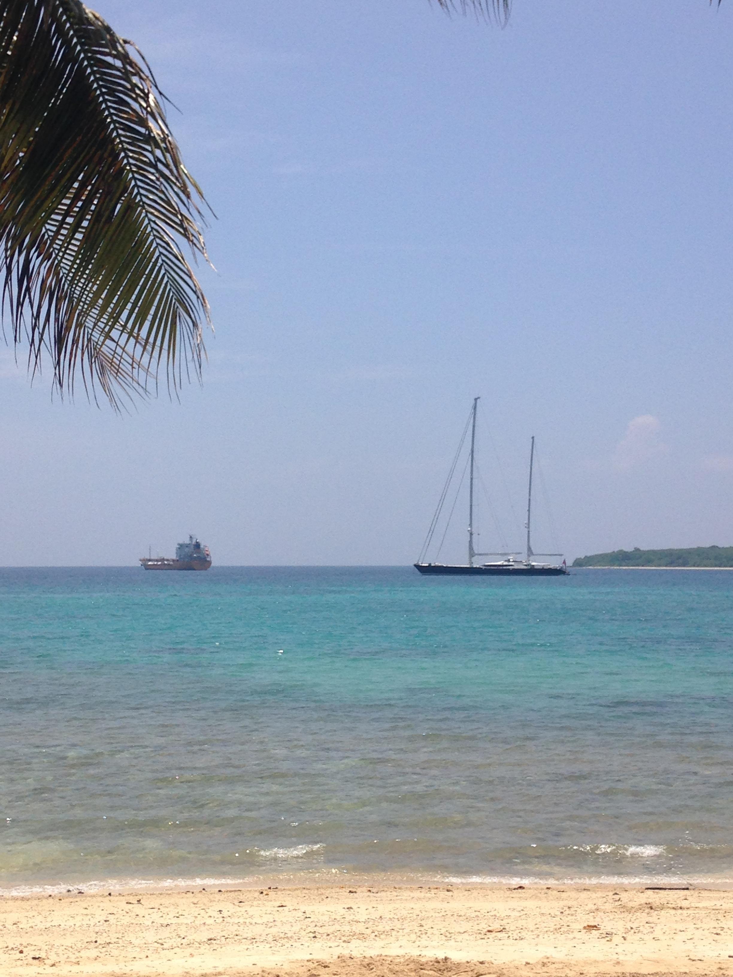 SY Drumbeat - Port Vila anchorage