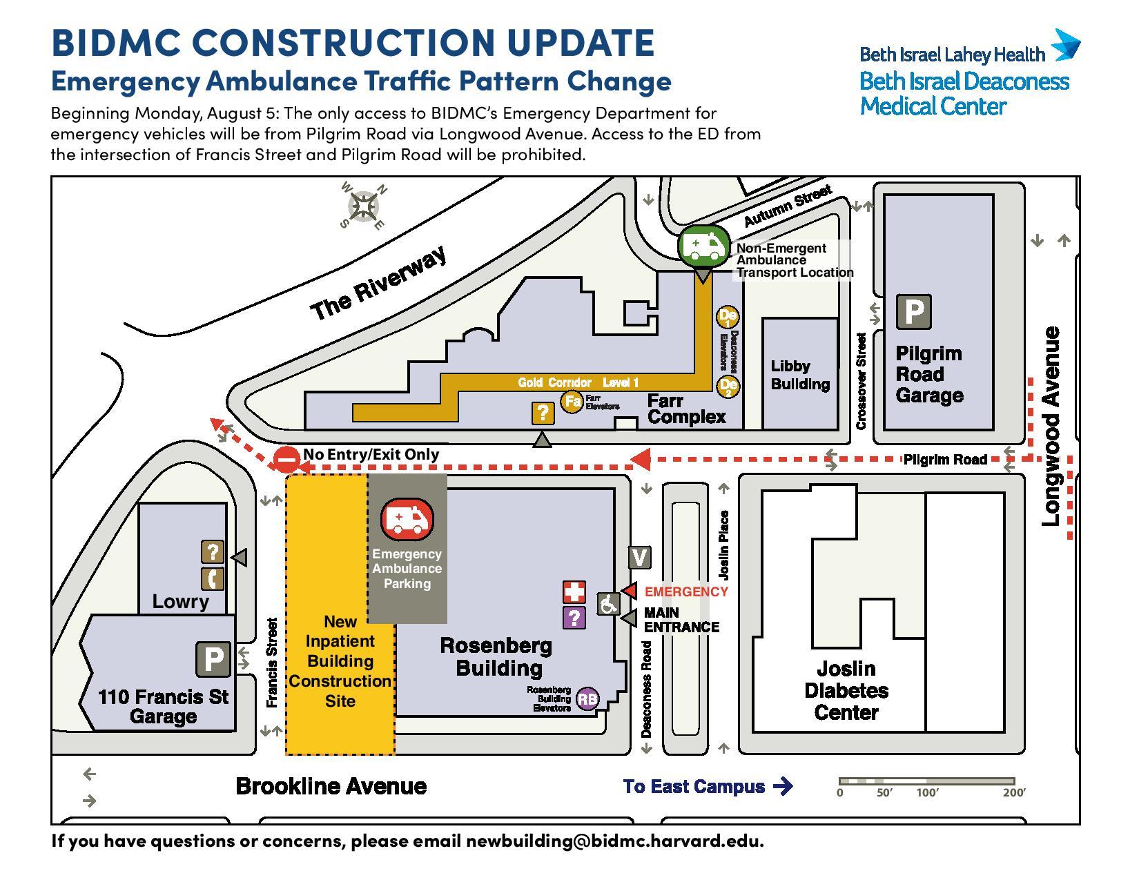 Ed Traffic Pattern Change At Bidmc Mbemsc
