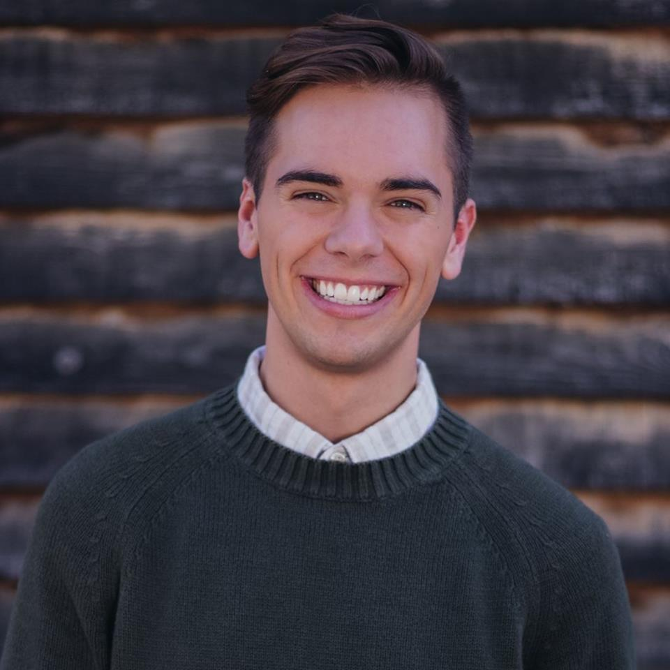 Matt Easton - BYU's 2019 political science valedictorian who came out in his speech and appeared on Ellen