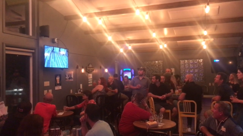 Spare Change watch party at Yellow Bridge Brewing Company in Delmont, PA.