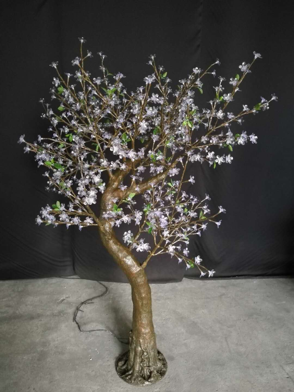 7' Folsom Warm White CherryBlossom Tree
