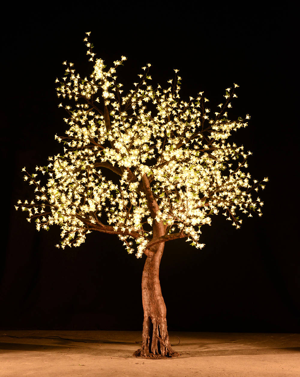 LED CHERRY TREES   Covered in pretty illuminated blossoms, our LED cherry trees have a brilliant sparkle for maximum impact. The LED cherry trees are stunning in daylight but really come to life at night.   VIEW RENTAL RATES