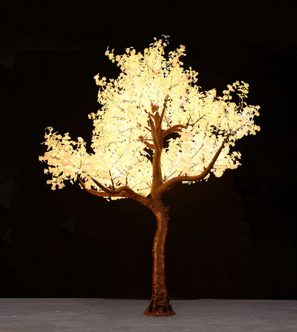 17Ft Skyline    *Available in January 2020   The Skyline is the Premium tree for lighting large venues. They are ideal for stadiums, large convention centers and hotel atriums creating an impactful impression and spreading light into large areas.    The tree is 17feet tall and 13 feet in diameter. It has 4160 LEDs on 65 branches and can be dimmed with a dimmer switch if desired.  Colors Available For Hire:   Warm White, Pure White, Red, Blue, Green, Yellow, Purple, light blue And Multi Color.