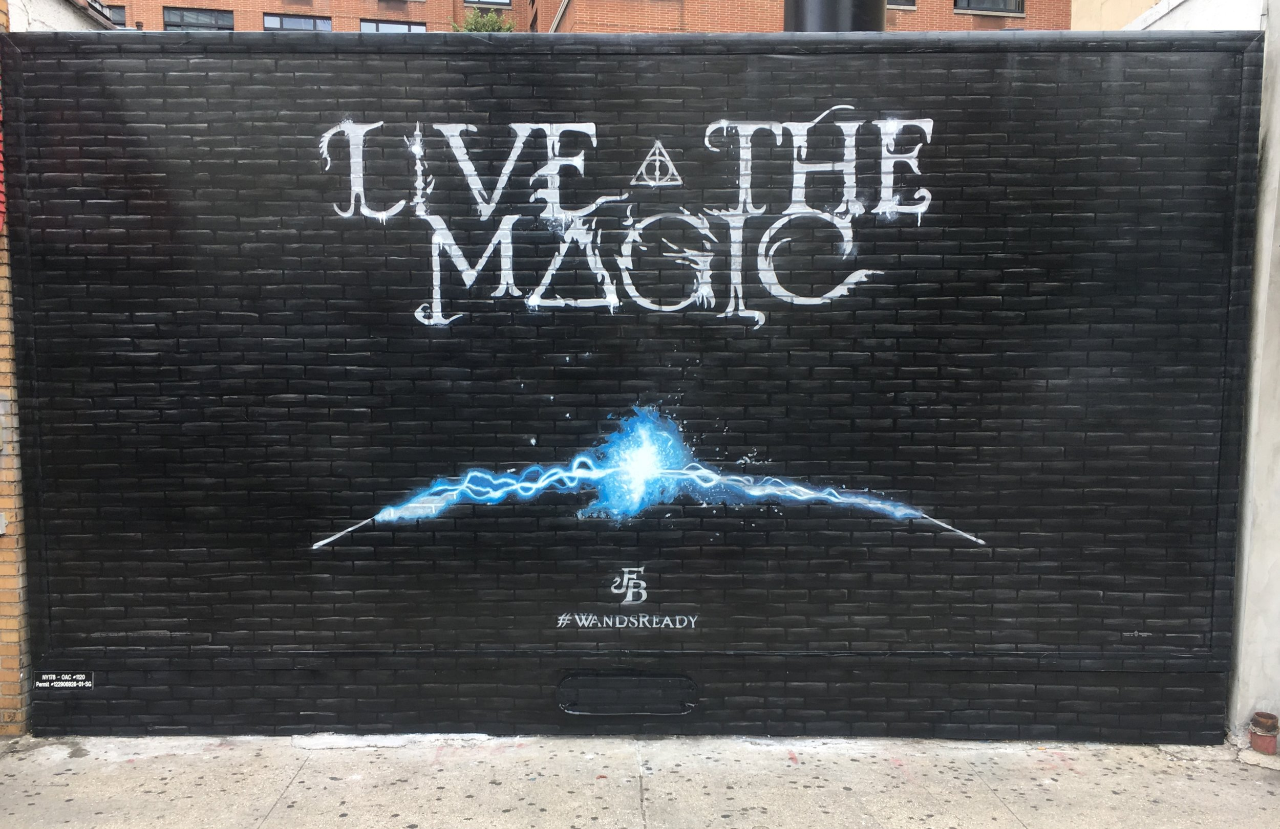 "LIVE THE MAGIC - ""Fantastic Beasts"" The Crimes Of GrindelwaldNew York, SEPTEMBER 2nd 2018#WANDSREADY"