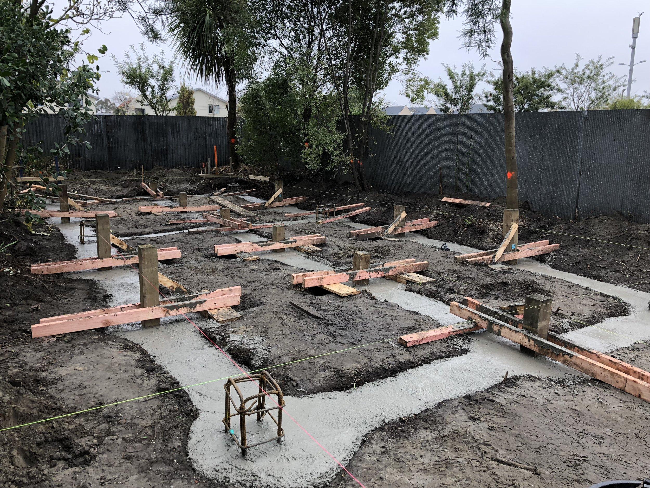 Concrete poured on Unit 3