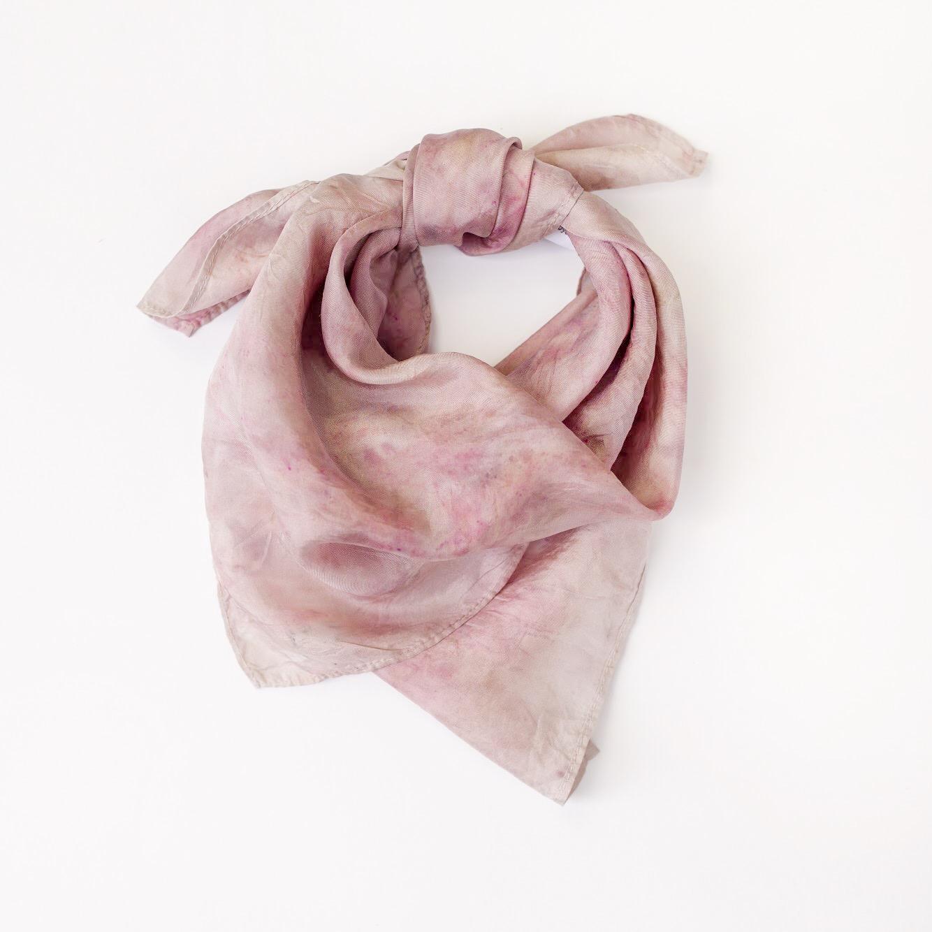 "20x20"" square scarf in Hibiscus"