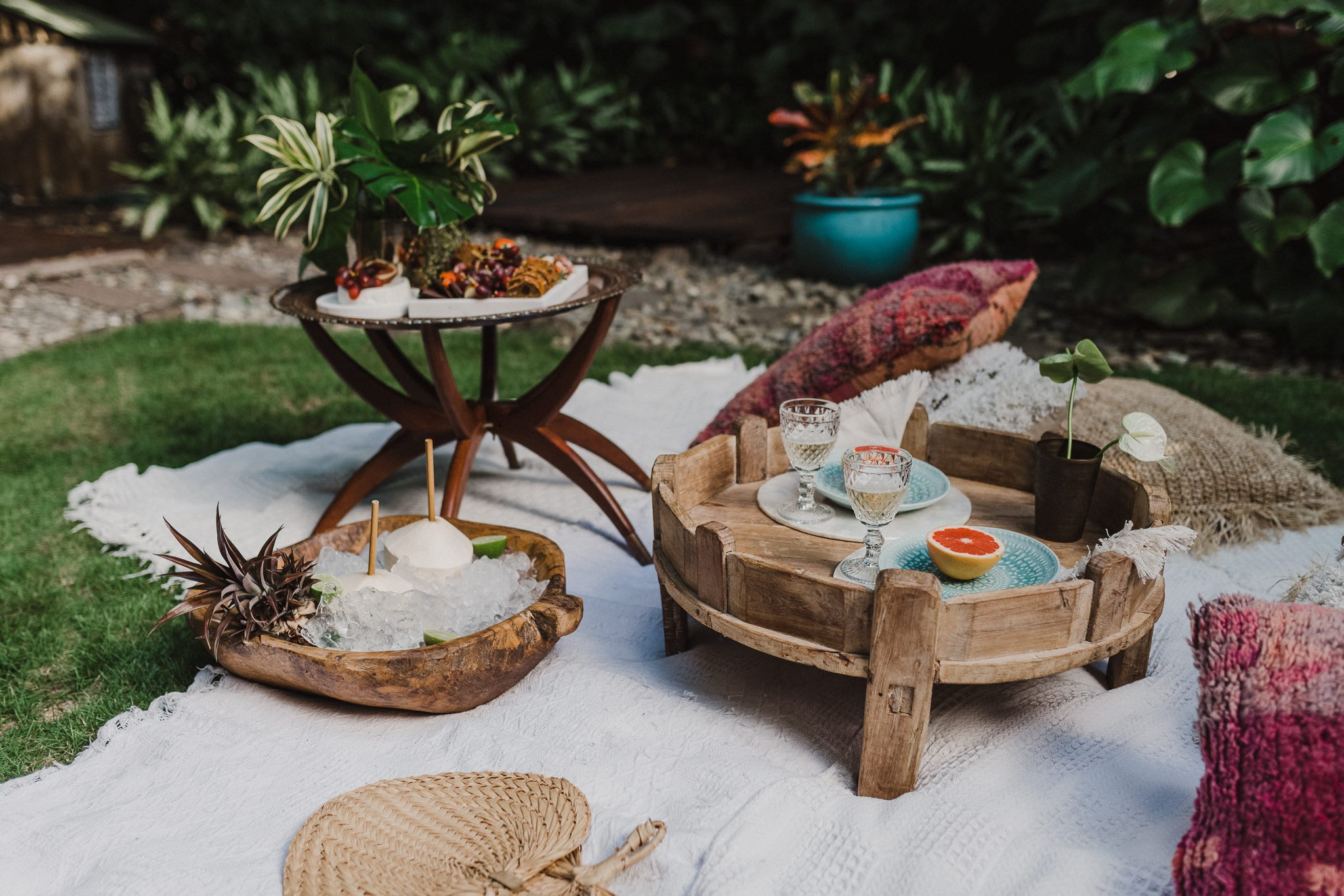 The Collection Co - Cairns - Catering - Styling - Picnic - Grazing- Engagament Photoshoot-4.jpg