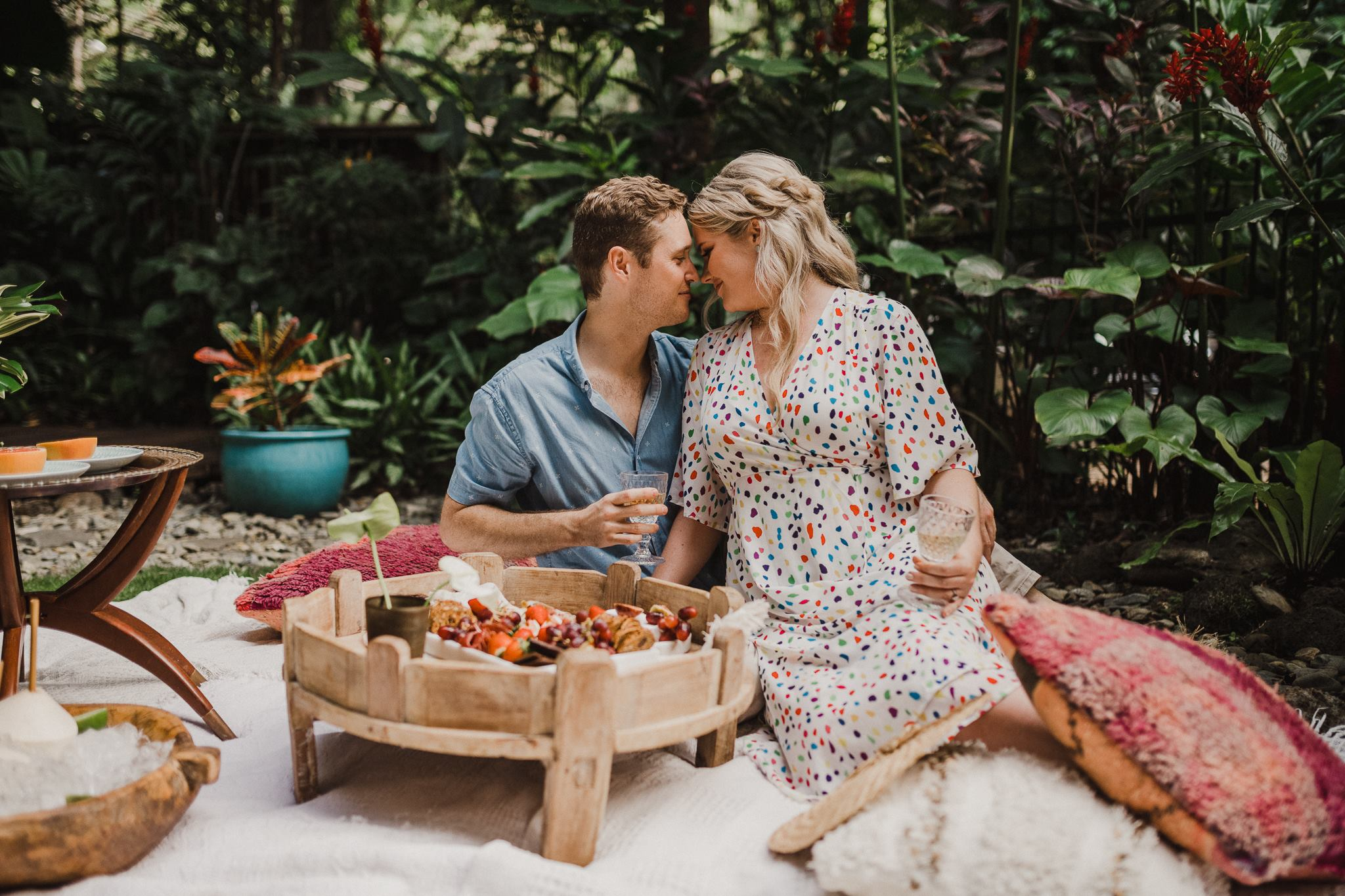 The Collection Co - Cairns - Catering - Styling - Picnic - Grazing- Engagament Photoshoot-3.jpg