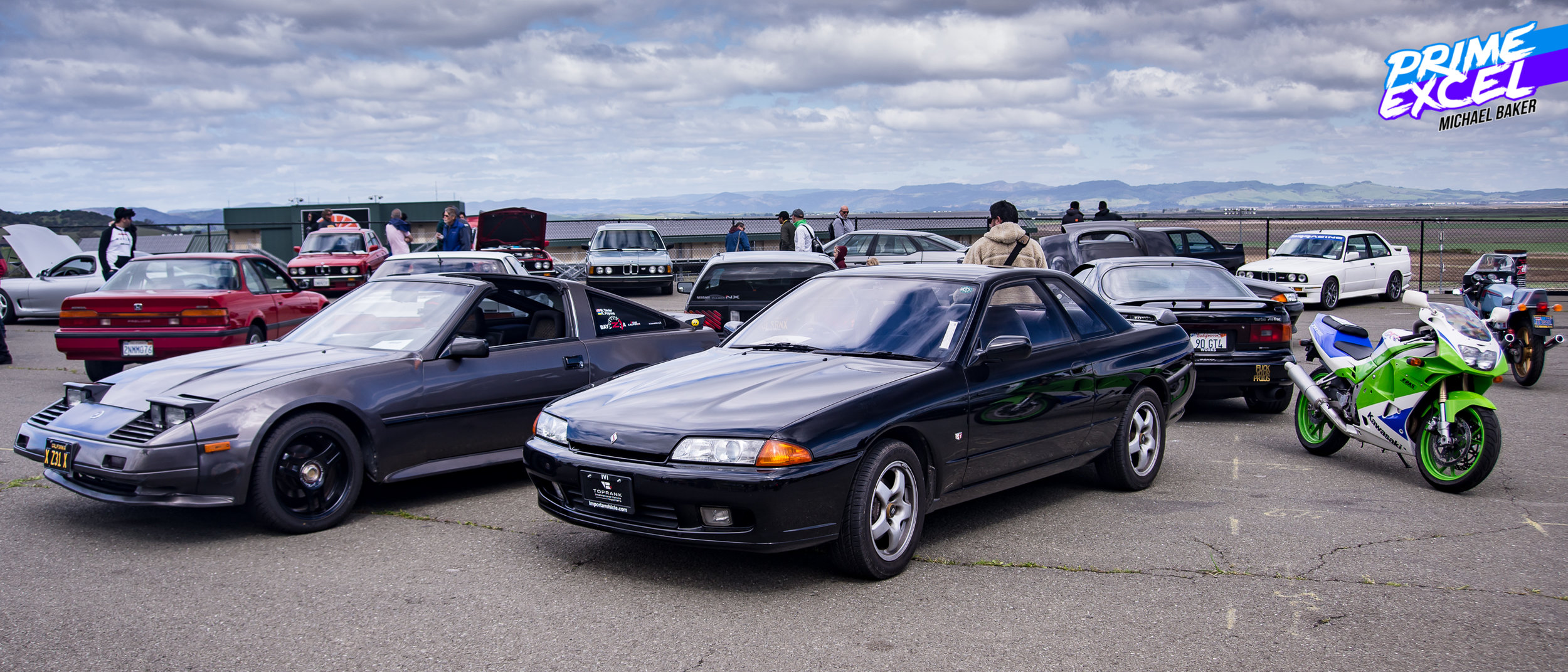 """""""Radwood Royalty"""", the sort of """"best of"""" section, had all manner of cars and bikes that represented the analog, driver-focused ethos."""