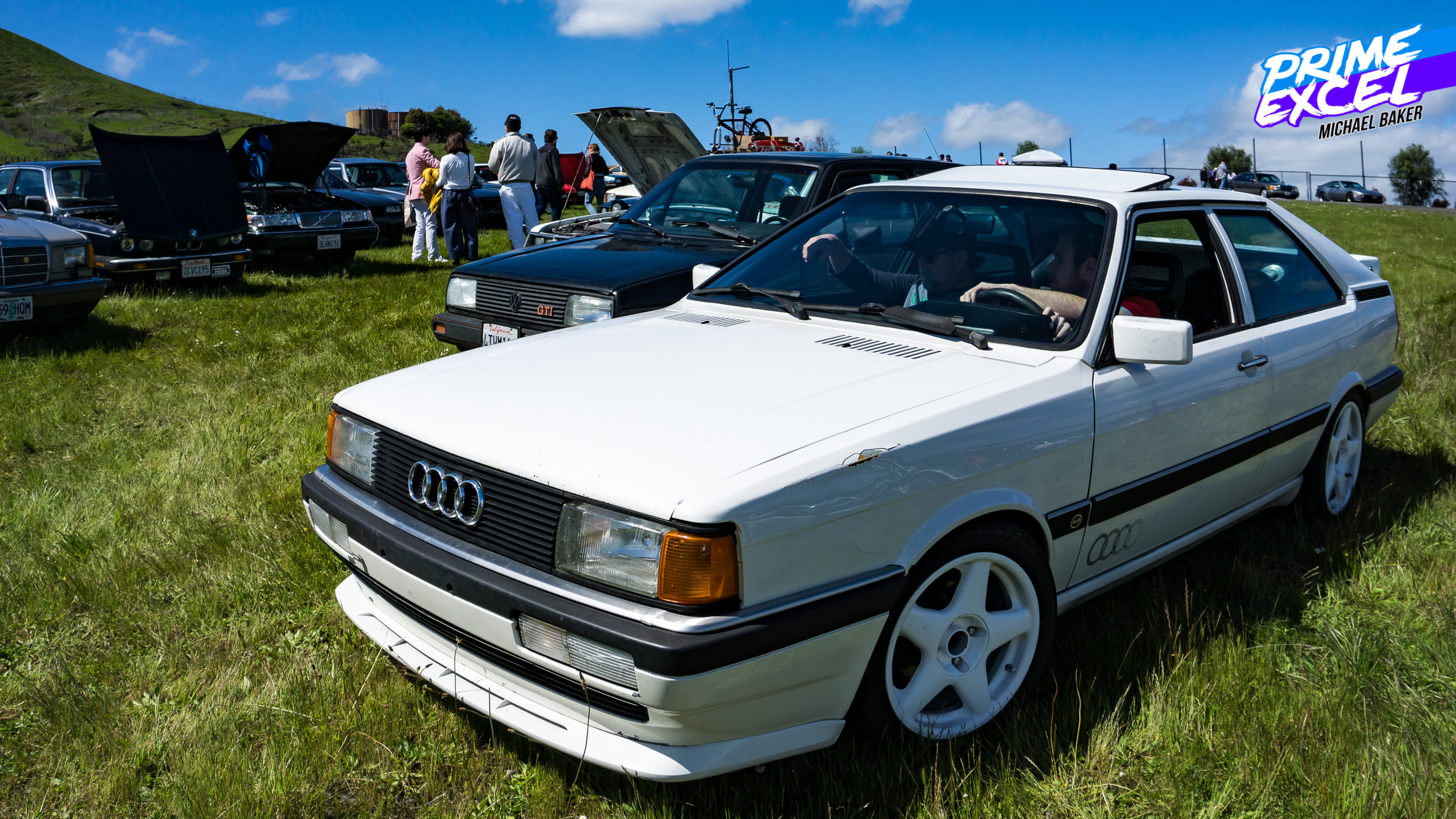 """Of course, the """"Rad"""" era encompasses a number of cars that would be at home on a race track -- or a hillclimb, like this Audi Coupe GT."""