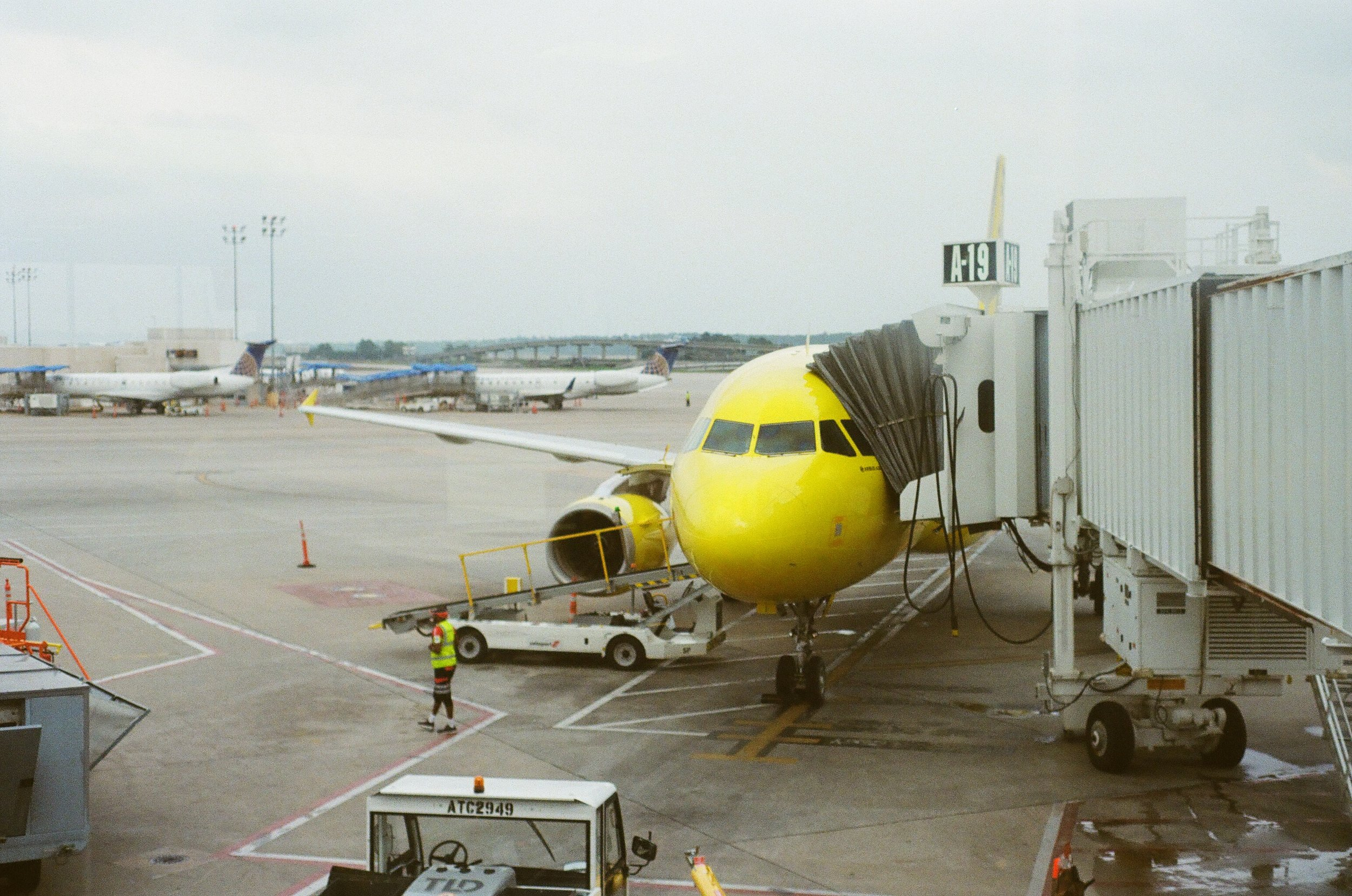 The first yellow chariot I rode